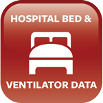 hospital bed and ventilator data