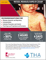 TMA/THA Measles Notice: Guidance for Clinicians and Hospitals
