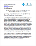 THA Statement on Executive Order Requiring Hospitals to Disclose Prices