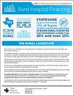 Rural Hospital Financing