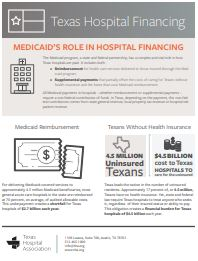 Medicaid's Role in Hospital Financing
