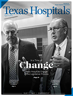 Cover of the January-February 2017 issue of Texas Hospitals