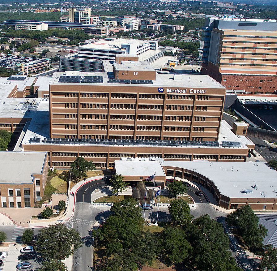 photo of the South Texas Veterans Health Care System building
