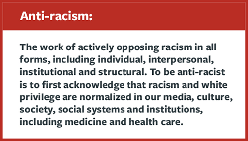 quote, definition of anti-racism