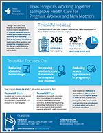 Texas Hospitals Working Together to Improve Health Care for Pregnant Women and New Mothers